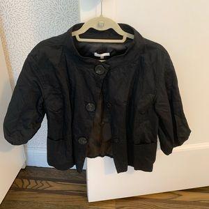 Vince cropped cotton jacket